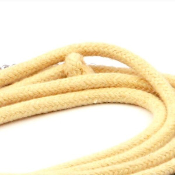 KEVLAR FIRE WICK: Rope: 10mm (3/8 inch) thick, braided Kevlar outer layer with fibreglass core - $6 per metre - SUPER absorbent - Great for making Monkey Fist Fire Poi, Fire Whips or Fire Skipping Ropes - Fyregear AUSTRALIA www.fyregear.com