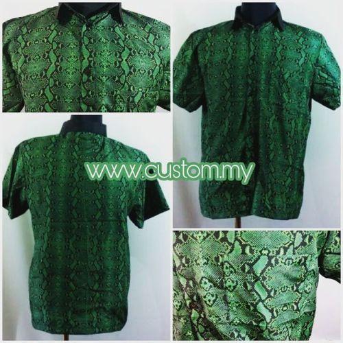 Ingin baju kemeja dengan design sendiri? Susah cari kemeja...