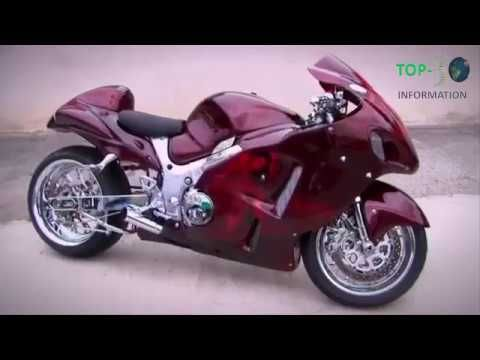 TOP TEN fastest motorcycle in the world 2017, 350 MPH (560 km/h)