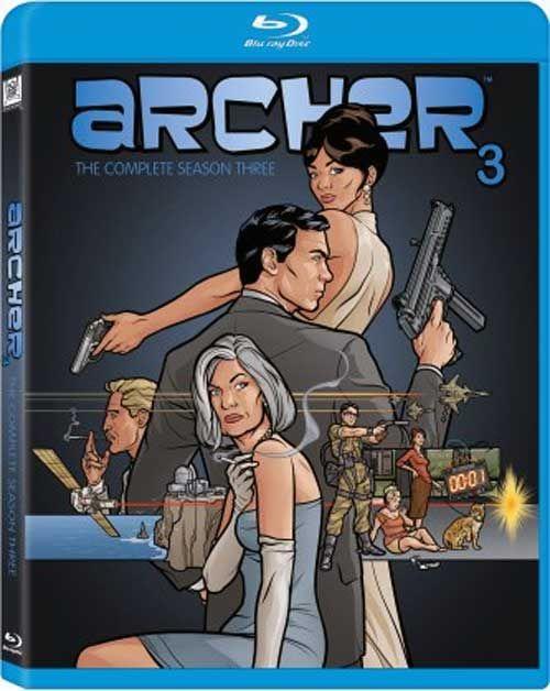 Archer - 'Season 3' on Blu-ray Disc