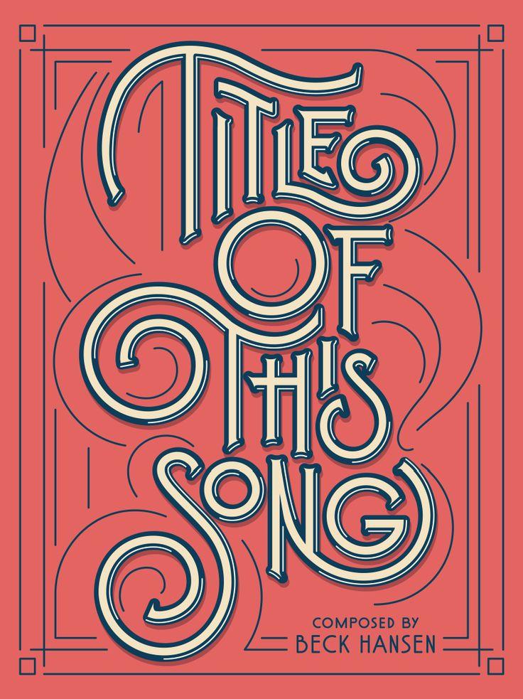Typography, Dan Cassaro
