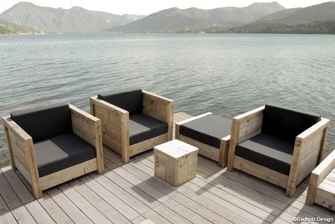 furniture by bauholz bauholz bauen mit holz sessel holz und lounge sessel garten