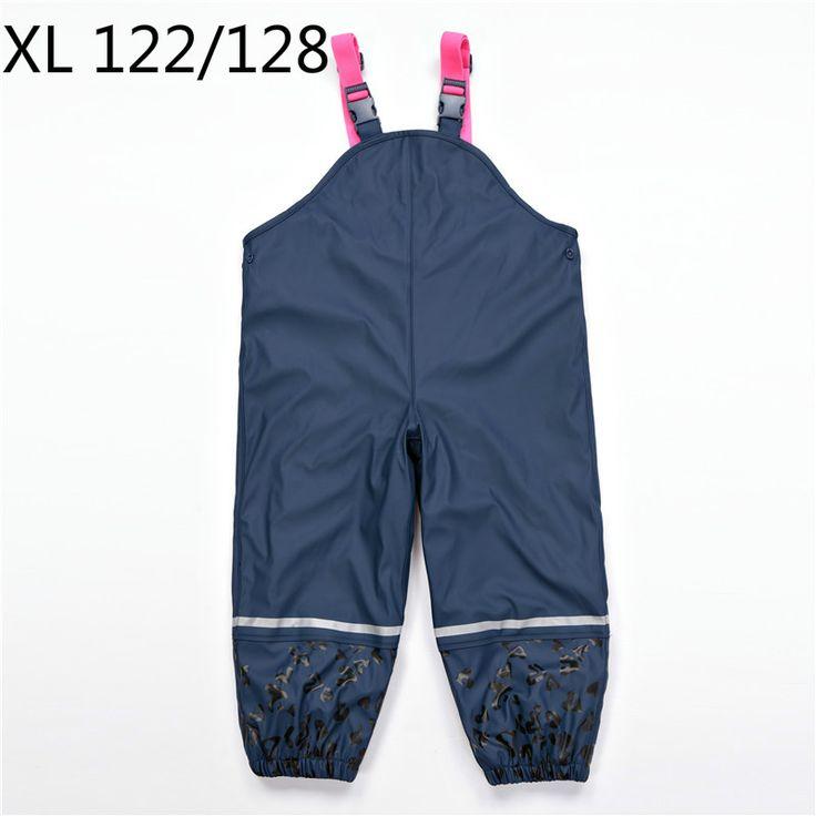 New 2016 new arrival Russian winter snow Boys Girls Waterproof Overalls Children Autumn Sport Pants Outdoor Suspenders Trousers