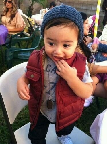 Toddler Swag!