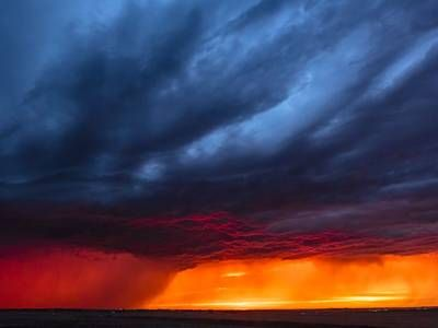 Storm chaser shoots supercell thunderstorm timelapse in ultra-high definition (Video)