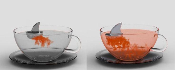 Sharky the tea infuser