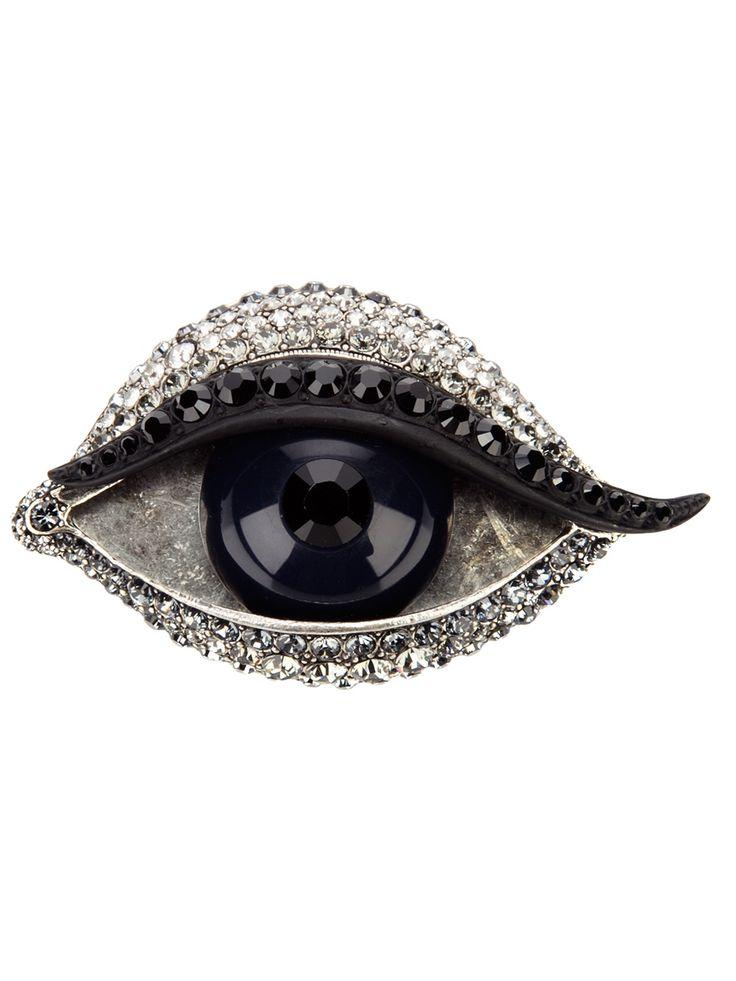 Eye brooch // Lanvin