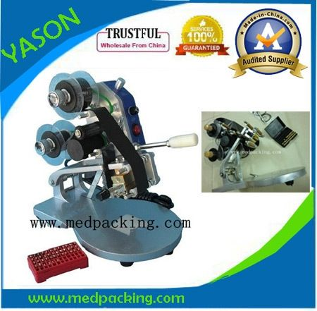 66.00$  Watch now - http://aigp3.worlditems.win/all/product.php?id=2020540596 - Manual Number  Words Date Printing Machine for  Bag & Paper & Film