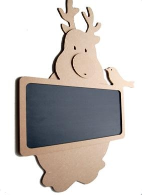 MDF Chalkboard Reindeer For Painting ... one of our wooden items for Christmas.