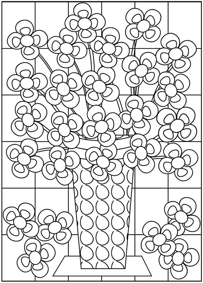 36 best Flower Coloring Sheets images on Pinterest Flower
