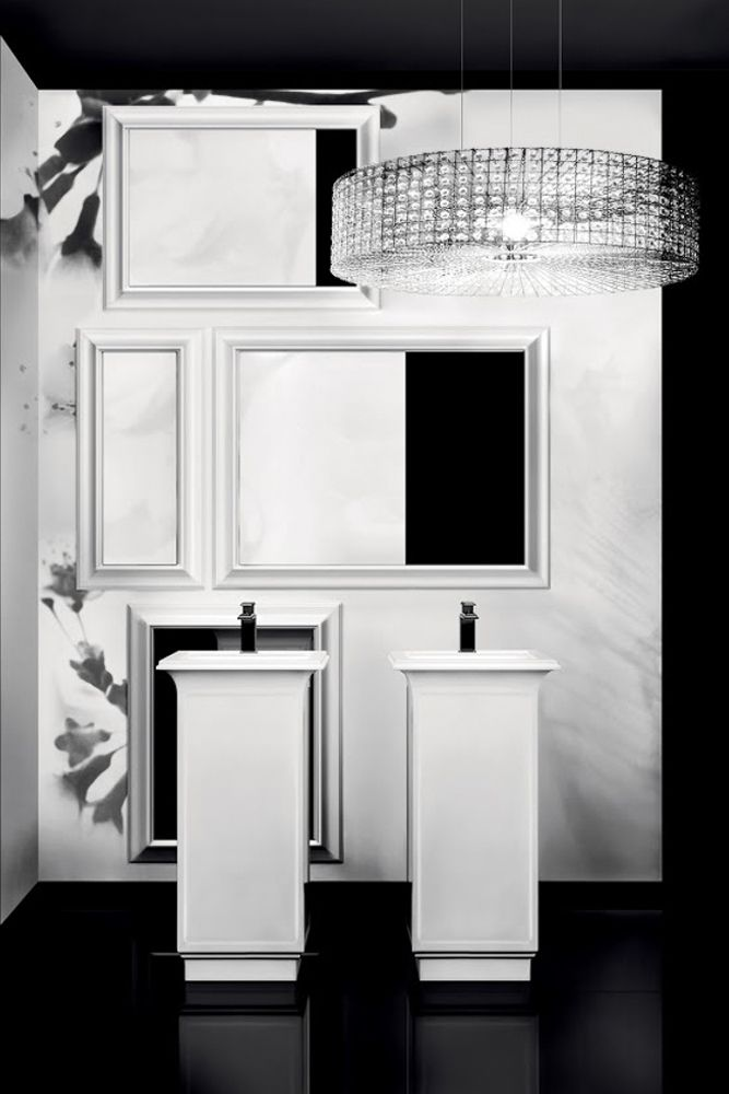 Black and White Homestyle
