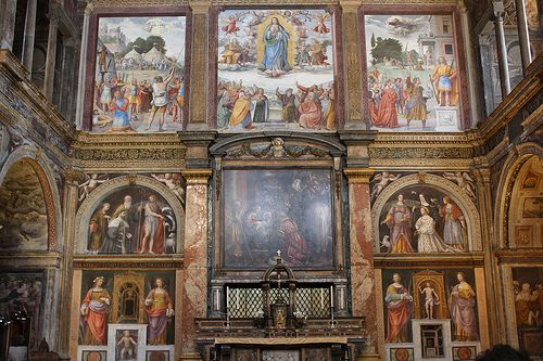 San Maurizio al Monastero Maggiore, Milano, Italia.  #TuscanyAgriturismoGiratola