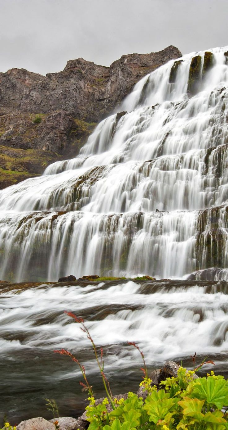 Beautiful cascades of Dynjandi waterfall at Westfjords of Iceland | 9 photos that prove Iceland is the most epic place on Earth