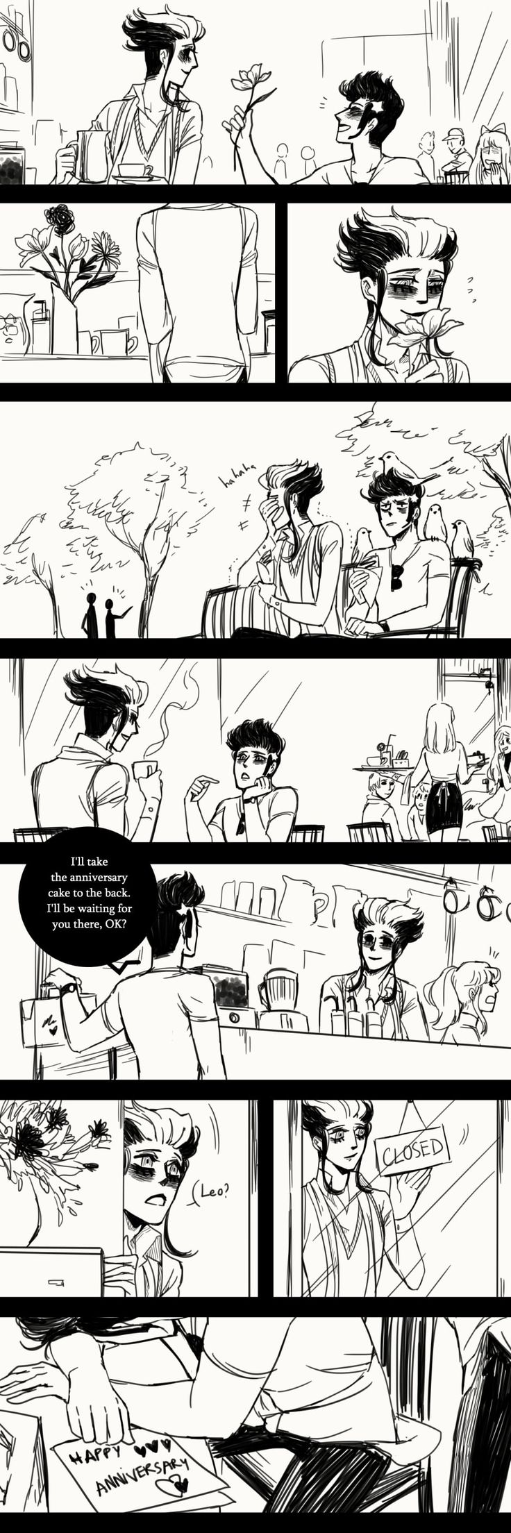 A Matter of Life and Death :: Special Episode: 1 Year Anniversary (Part 3)   Tapastic Comics - image 3