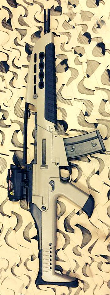Another awesome Tom Bostics of TommyBuilt Tactical LLC conversion. SL8 to XM8. I need this.