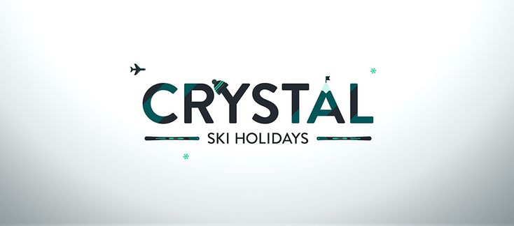 LOVE THIS: New Logo and Identity for Crystal Ski Holidays by SomeOne