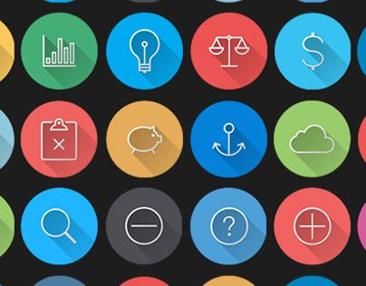 iOS7 Icons - Colorful Flat Icons Pack | DailyDesignMag