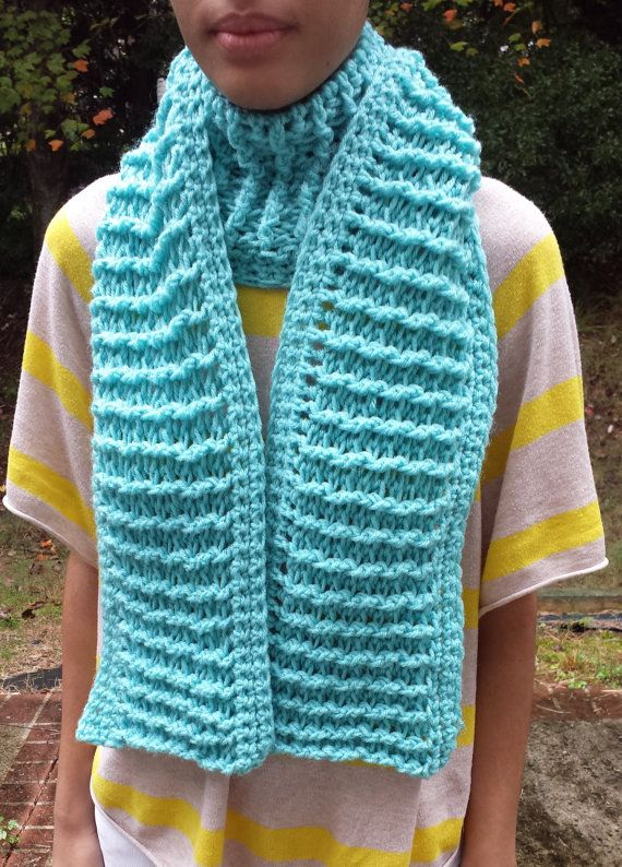 Front Back Double Post Scarf By Simplyyarned On Etsy