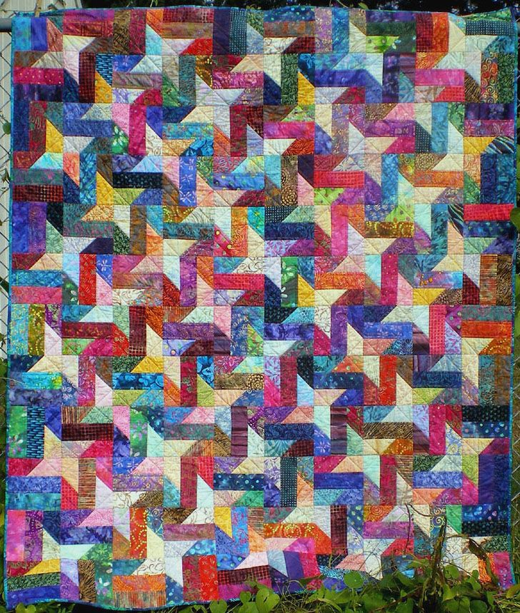 """Pattern: """"Barbed Wire Fence"""" from Twosey Foursey Quilts by ..."""