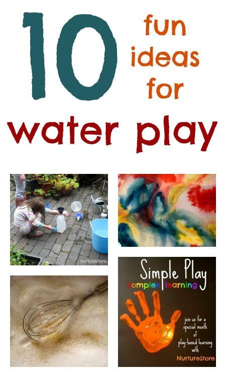 Great ideas for kids activities: water play | NurtureStore :: inspiration for kids