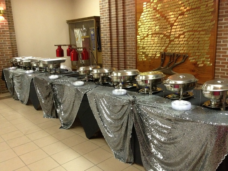we are able to cater at YOUR event as well! food warmers and all