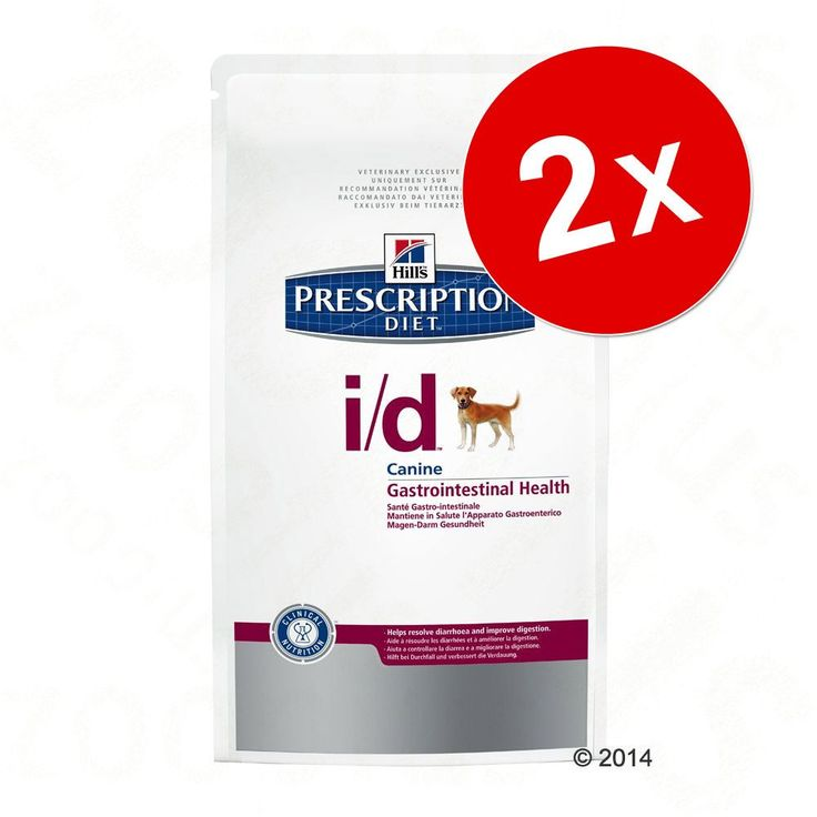 Animalerie  Lot Hills Prescription Diet 2 x 12/10 kg pour chien  Canine D/D pour chien