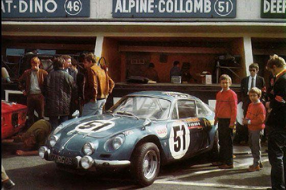Alpine A110 - Le Mans 1968
