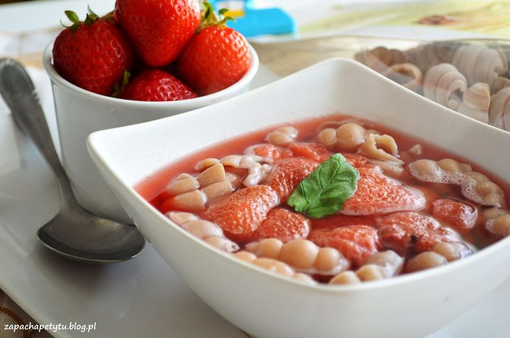 Strawberry soup #zapachapetytu #strawberry #soup