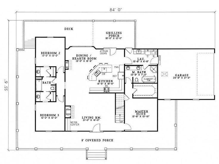 89 best images about breezeway house plans on pinterest for Crazy house plans