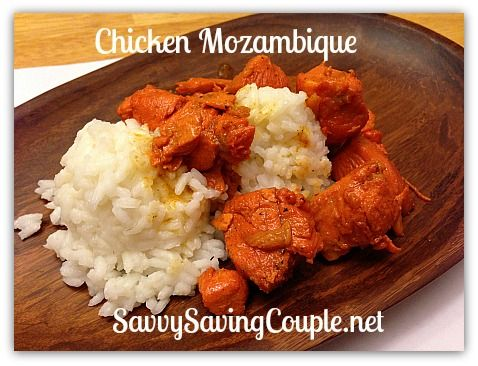 How to make Portuguese Chicken Mozambique. #Recipes