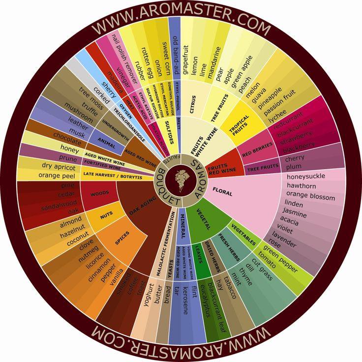 Wine tasting is incredibly subjective. Everyone tastes things differently. Tasting notes on the back of a bottle are merely suggestions (so don't worry if you don't taste any of them, you're not wrong!). A useful tool often used by Sommeliers and Winemakers to identify particular aromas & flavors, is a Wine Aroma Wheel. When trying to identify flavors and aromas first separate what you are tasting into categories, ie. fruits, herbs, spice, and then try to identify from there what you are…