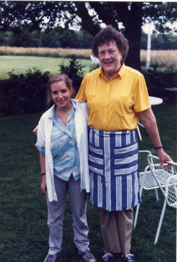 The Story of Sara Moulton and Julia Child