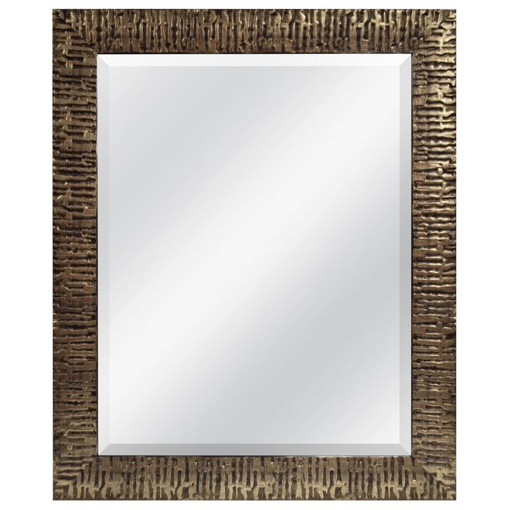 MCS Industries Rugged Gold Wall Mirror