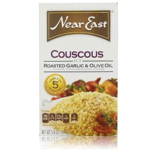 Near East Roasted Garlic & Olive Oil Couscous (12x5.8 Oz)