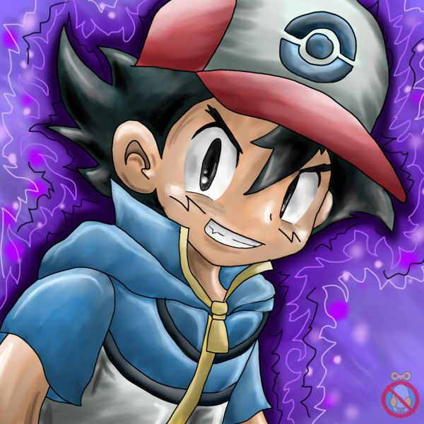Dark Ash Ketchum Avatar Pokemon by shadowhatesomochao