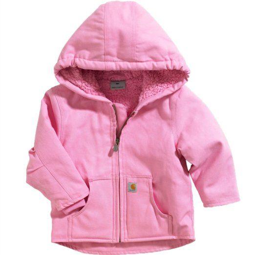 Amazon.com: Carhartt Baby Sherpa Lined Redwood Jacket (3M-24M): Clothing