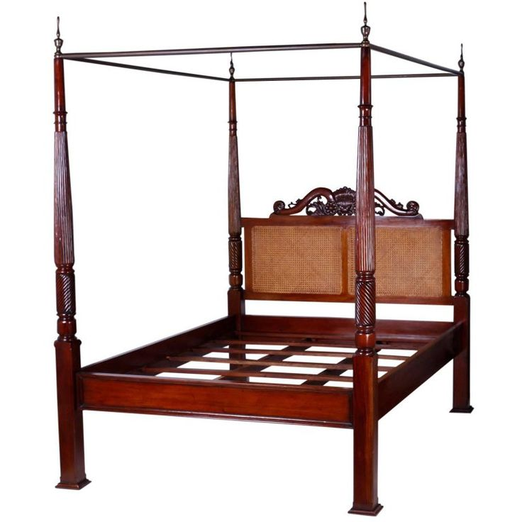 Best 25 queen size canopy bed ideas on pinterest queen for Colonial beds
