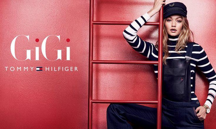 Kolekcja Gigi Hadid dla Tommy Hilfiger | fitandfashion.pl