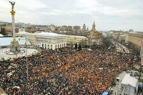 2004 - The Orange Revolution in Ukraine