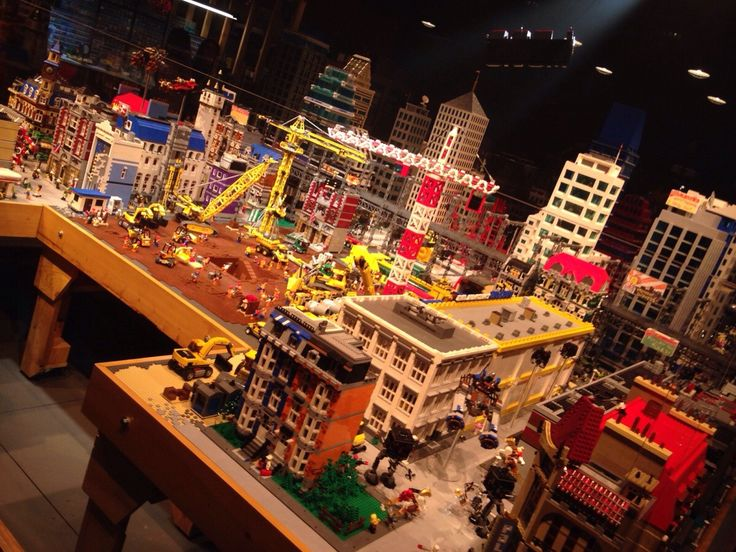 The Lego Movie set at Legoland