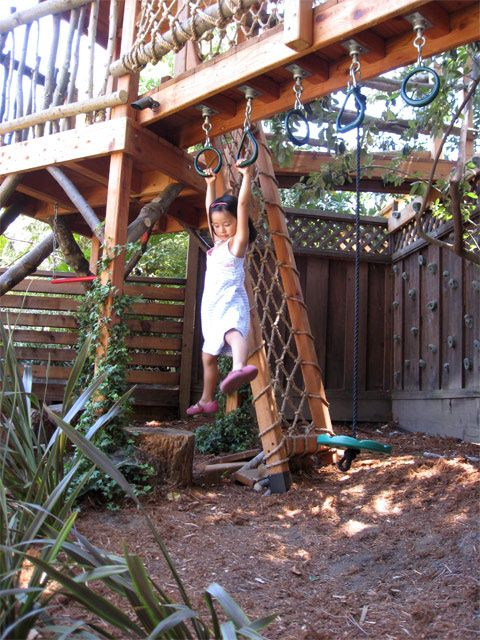 Barbara Butler-Extraordinary Play Structures for Kids -Log Lookout