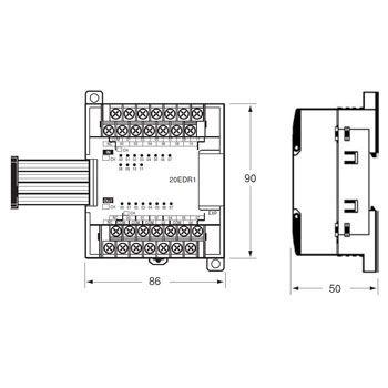 CP1W-TS002 プログラマブルコントローラ 温度センサユニット オムロン(omron) 39033294