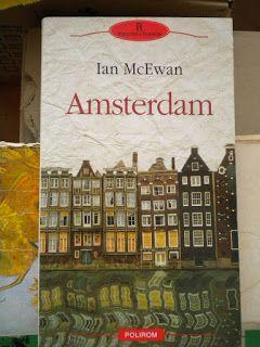 Little bookshop: Amsterdam de Ian McEwan editura Polirom