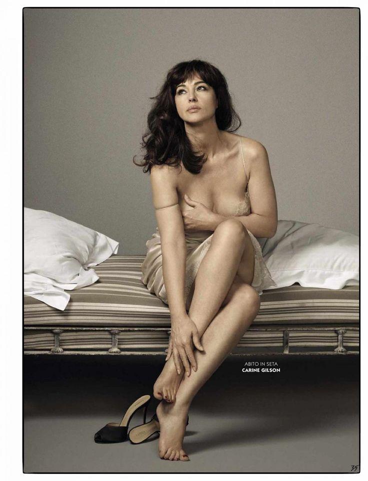 Monica Belluci in GQ Magazine, Italia August 2015 Issue
