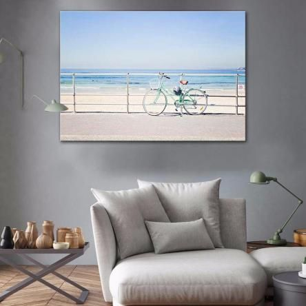 Calm Beach | Canvas or Framed Print | Ilana Sallick