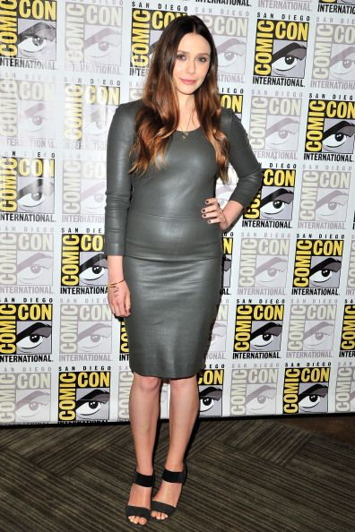 Elizabeth Olsen attends Marvel's 'Ant-Man' press line during Comic-Con International 2014 at San Diego Convention Center on July 26, 2014 in San Diego, California