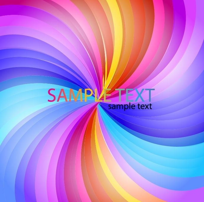 Free vector Abstract Rainbow Stripe #6018