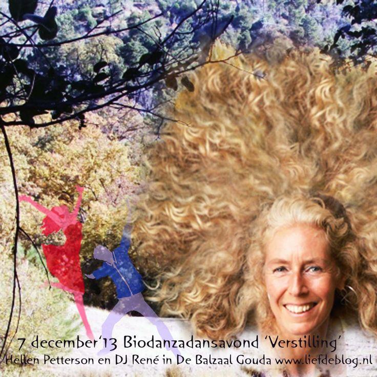 'Verstilling' 7 december 2013 Biodanza met Hellen Petterson en DJ René in de Balzaal Gouda,zie Liefdeblog