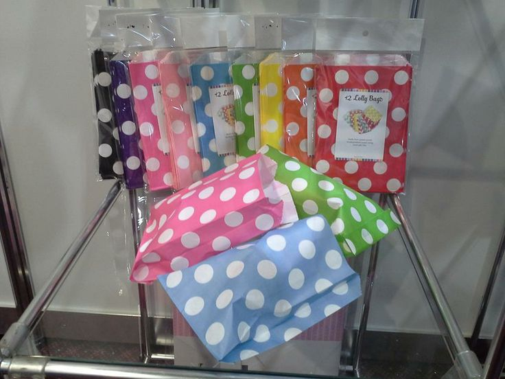 Showcasing the lovely bright lolly bags from Sundays at the Autumn Gift Fair
