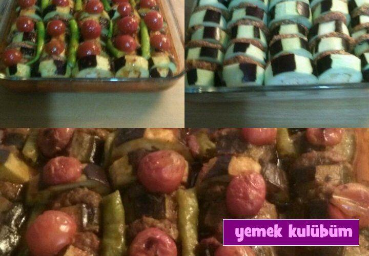 TARİF : Patlıcan Kebap   #yemekkulubum